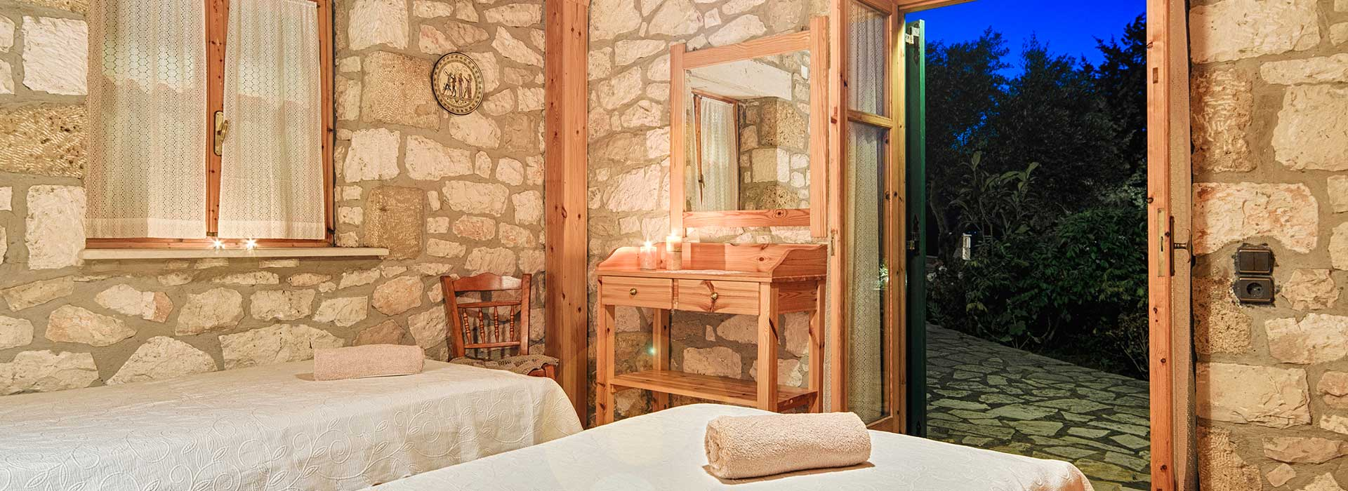 two-bedroom apartment - joanna's traditional stone villas - vasilikos zante zakynthos greece